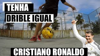 APRENDA UM DRIBLE DO CRISTIANO RONALDO: WHIPLASH TUTORIAL