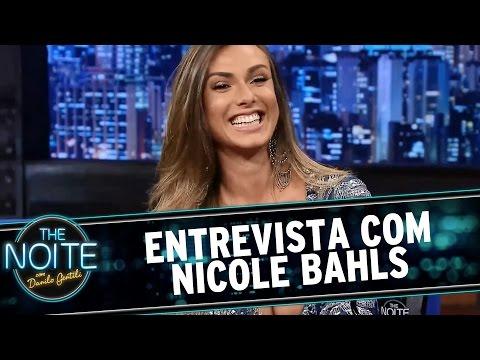The Noite 11 03 15 Entrevista com Nicole Bahls
