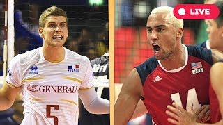 France v USA - Final Round | 2017 FIVB Volleyball World League
