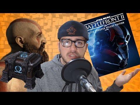 GOW tendrá cofres - SW Battlefront II: quita microtransacciones - Ventas Xbox One X | QN