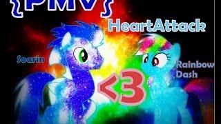 ♪♥~[SoarinDash-HeartAttack] {PMV} ~♥♪
