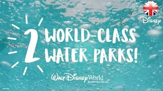 WALT DISNEY WORLD | Check Out Disney's Blizzard Beach And Typhoon Lagoon!  | Official Disney UK