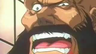 Guile vs Zangief   anime street fighter