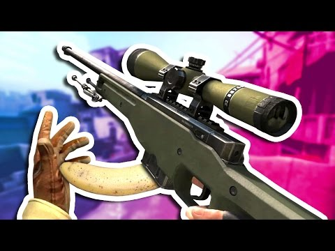 CSGO BANANA FLICKS Counter Strike Global Offensive Funny Moments