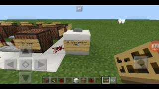 MCPE Noteblock We are number one