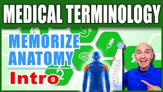 🏥 Human Anatomy - How to Memorize Biology Medical Terminology | Nursing Med Student Terms Mnemonics