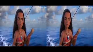 Moana   Moana & Maui FIGHT With Teka   Te Fiti Returns _____VR HD