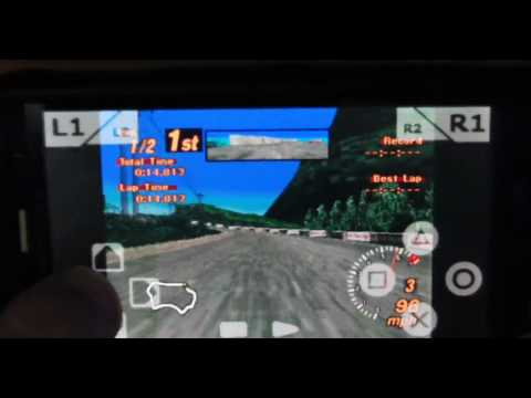PSX4DROID on Droid X CTR Crash 2 Gran Turismo 2 Sim Theme Park
