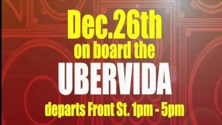 Boxing Day Bonanza 26th Dec Departs Front Street 1pm- 5pm $40 B.Y.O.B