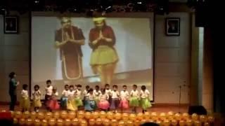 video anak paud menari