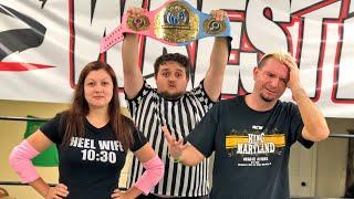 WWE STAR JAMES ELLSWORTH VS HEEL WIFE For The INTERGENDER CHAMPIONSHIP!