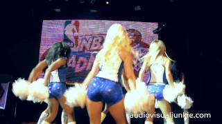 Orlando Magic Dancers performance at NBA Madness 2011 in Manila, Philippines