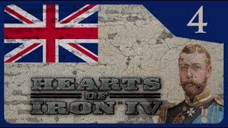 Hearts of Iron IV - The Great War #4 Ahistorical British Empire