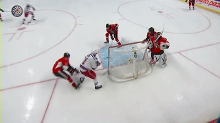 Turris bails out Anderson after miscue behind his net