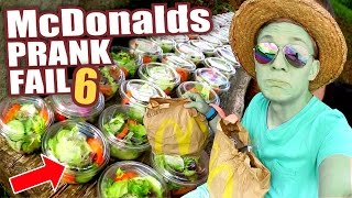 McDonalds PRANK FAIL - MEGA SALAT BESTELLUNG - McDonalds Roulette