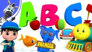 Phonics Song | Learning Videos For Kids by Farmees