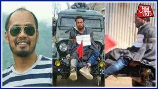 Aaj Subah: Indian Army Chief Honors Major Gogoi, Who Tied Kashmiri Man To His Jeep
