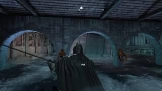 Batman Arkham city -riddler trophy near the old GCPD
