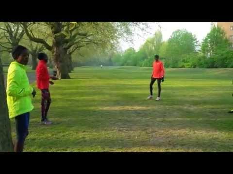 LONDON MARATHON 2015 #2 - Kenyan & Ethiopian Athletes Prepare for battle..!
