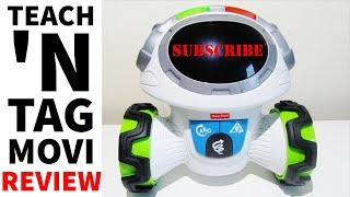 Fisher Price Think And Learn Teach 'N Tag Movi Robot Review