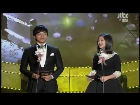 [Engsub] Paeksang Art Awards Jingoo + Yoojung CUT 120426