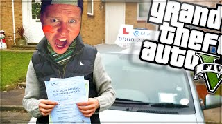 MY DRIVING TEST! (GTA 5 Funny Moments Skit)