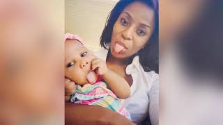 Jessica Nkosi (Qondi) from Isibaya with her daughter 👸👸
