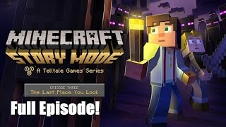Minecraft Story Mode : Episode 3 Full Episode ( No Commentary )