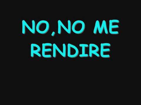 NO ME RENDIRE MAY