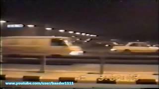 صفارات الانذار في شوارع الرياض الخامسه فجرا ازمة الخليج عام 1991