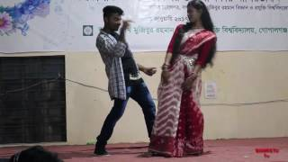 Dhakai Saree ( ঢাকাই শাড়ি ) । Bangla Hot Stage Dance (HD) । 2017 । By BSMRSTUTv