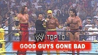 WWE Top 10 - Good Guys Gone Bad