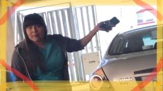 DRAMA EN ICB (video completo) ESTACIONAMIENTO de tres pisos uacj cd Juárez #ladyestacionamiento
