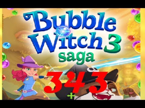 Bubble Witch Saga 3 - Level 343 - No Boosters