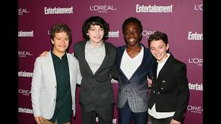 Stranger Things cast at Emmys Pre-Party