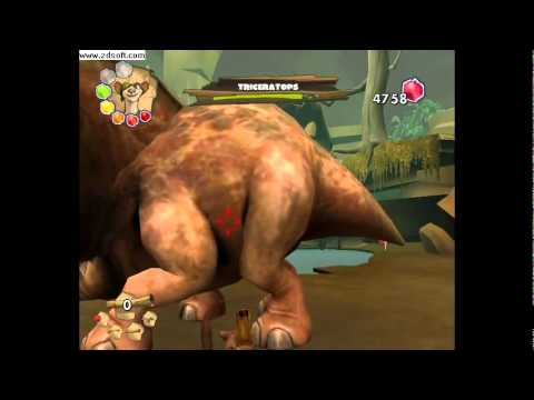 Ice Age 3 Dawn of Dinosaurs Gameplay part 5