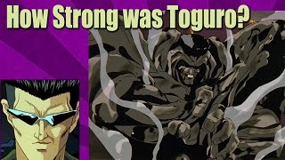 How Strong was the Younger Toguro Brother?? Yu Yu Hakusho Discussion Theory