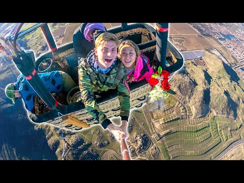 DONT LOOK DOWN SCARY VALENTINES DATE WITH CARTER SHARER