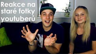 Reakce na staré fotky youtuberů