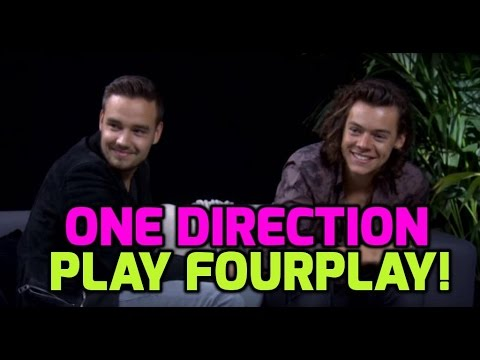 One Direction Fourplay Harry Styles and Liam Payne answer your questions
