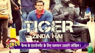 Tiger Zinda Hai: Salman Khan To Fight A Pack Of Wolves !! Ulala