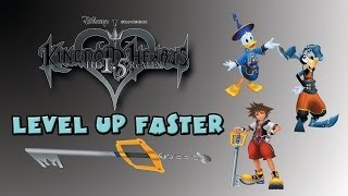 How to Level up Faster In Kingdom Hearts Final Mix