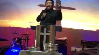 Kesaksian Saifuddin Ibrahim di gereja IPCE New York