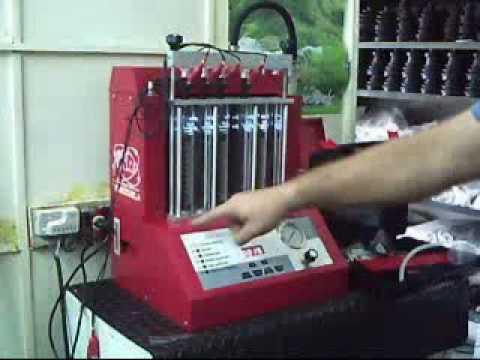 Banco Maquina Limpieza de Inyectores Ultrasonido Venezuela PHT 6H