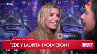 Laurita Fernández reconoció besos con Fede Bal tras la separación
