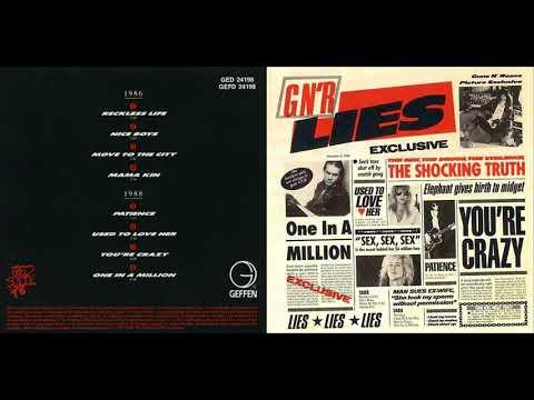G N' R Lies guns n' roses full album