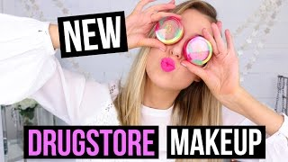 WHAT'S NEW AT THE DRUGSTORE!?    First Impressions Haul on NEW MAKEUP LAUNCHES 2017!