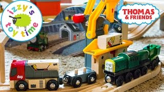 Thomas Train with Brio Freight Goods Station | Thomas and Friends | Fun Toy Trains for Kids