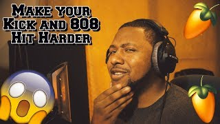 How to make Kick and 808 Hit Harder in FL Studio 20 With Stock Plugins!!!