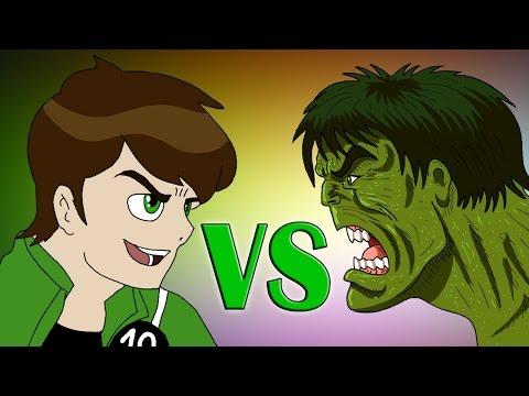Ben 10 vs Hulk